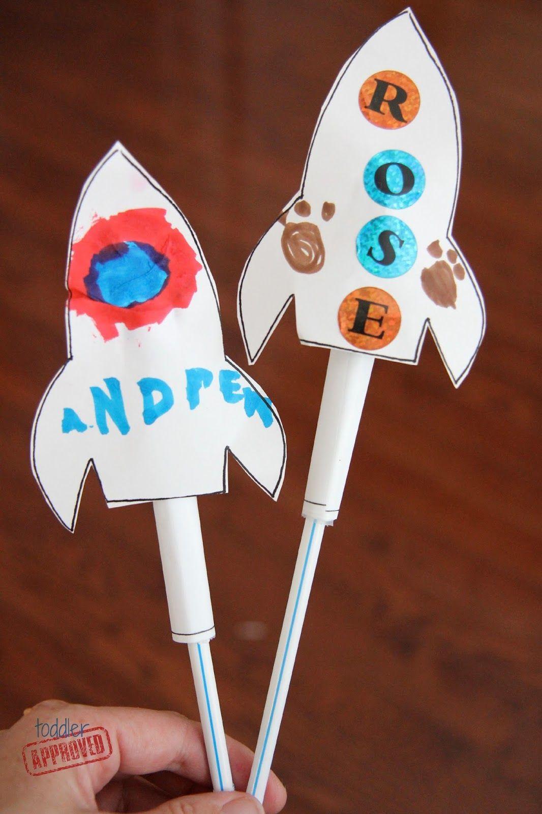Kindergarten Will Be A Blast Rocket Party