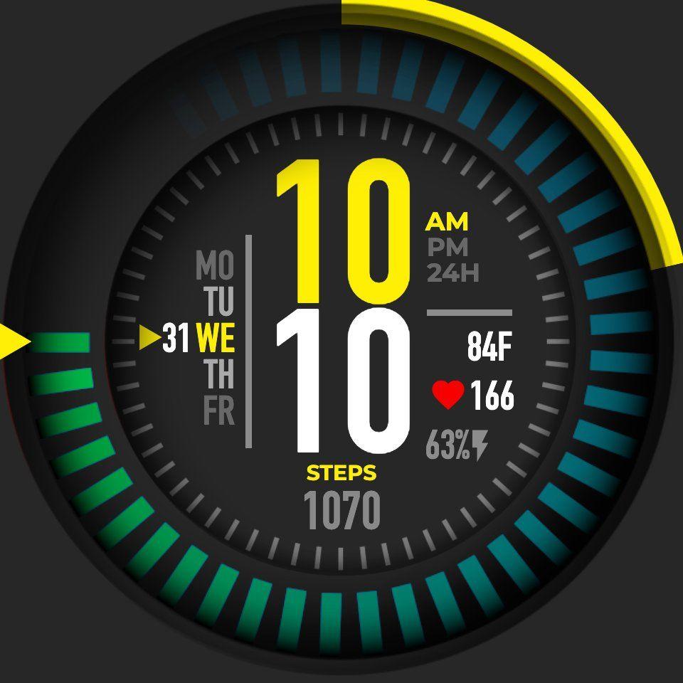 Pin on Watch UI design