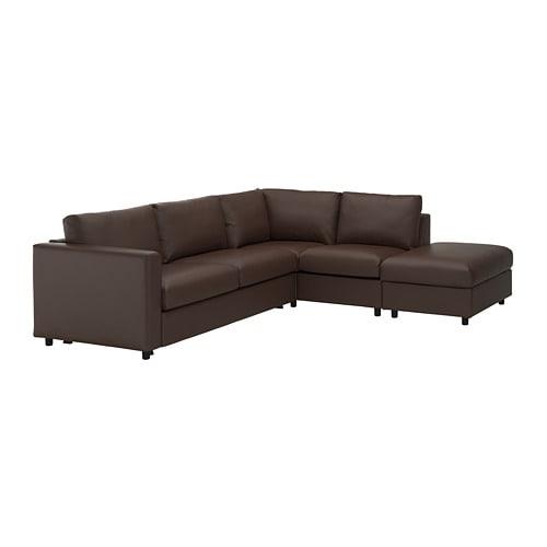 Vimle Corner Sofa Bed 4 Seat With