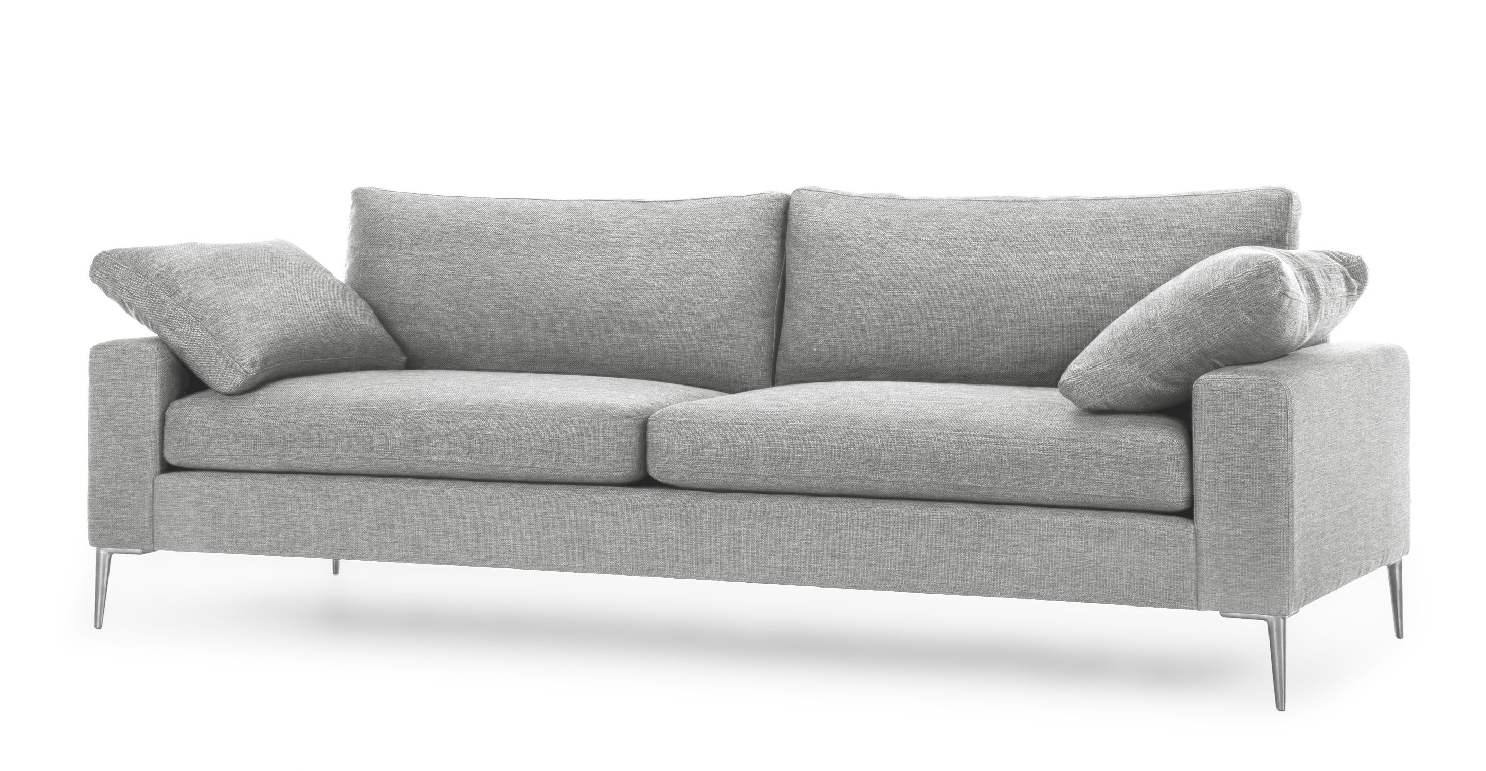 Nova Winter Gray Sofa Sofas Article