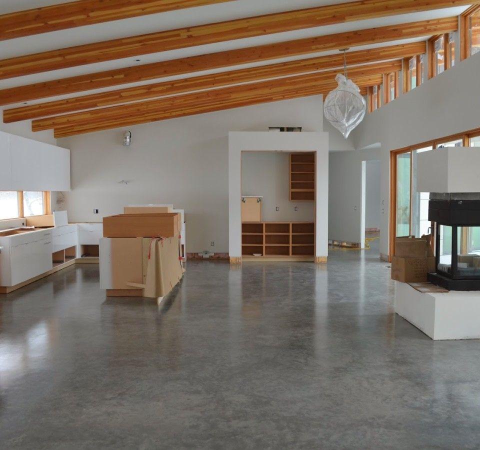 Polishing Concrete Floors Underfloor Heating Grezu Home