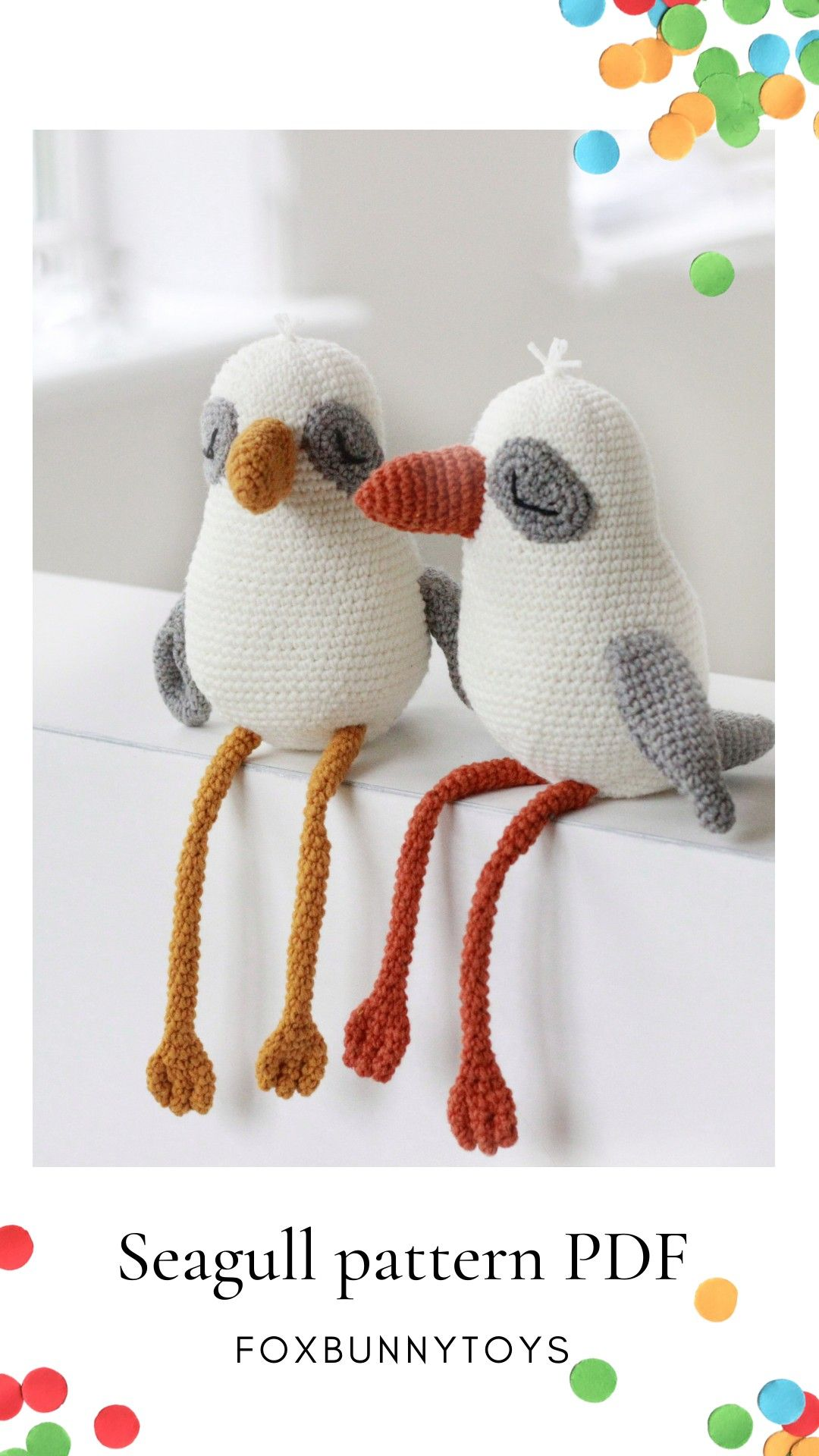 Crochet bird pattern,Amigurumi pattern bird toy,Crochet