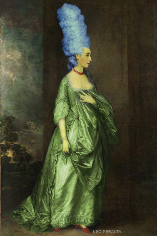 Marge de Versalles #Art #Kunst #Surreal #Marge #Versalles#Versaillles #Málaga