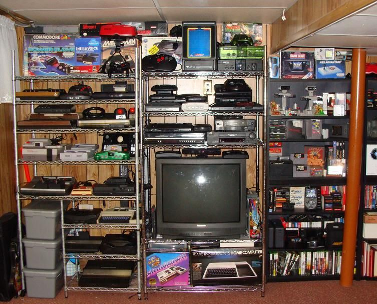 My Video Game Collection Retro Games Room Video Game Rooms