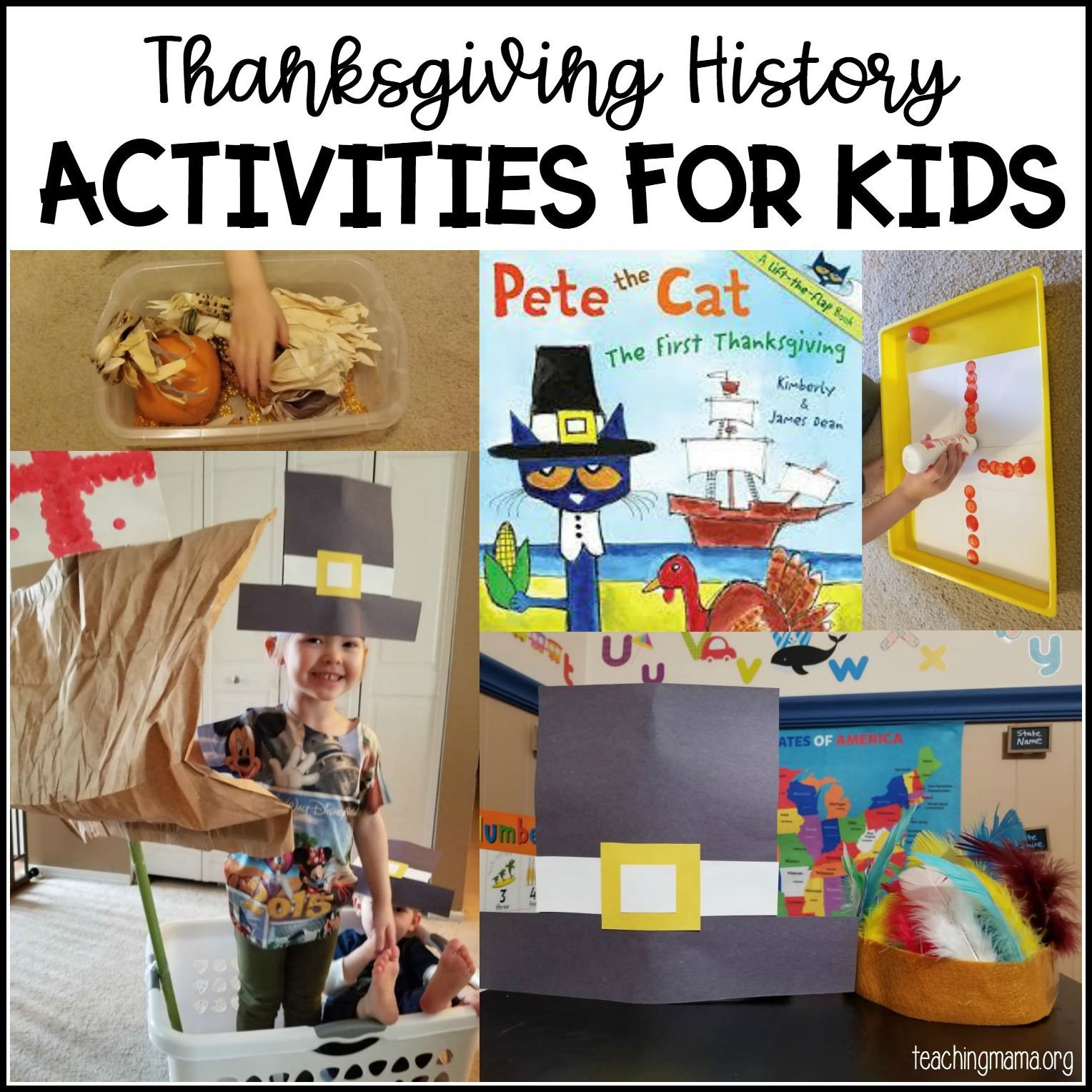 Fun Thanksgiving History Activities For Kids