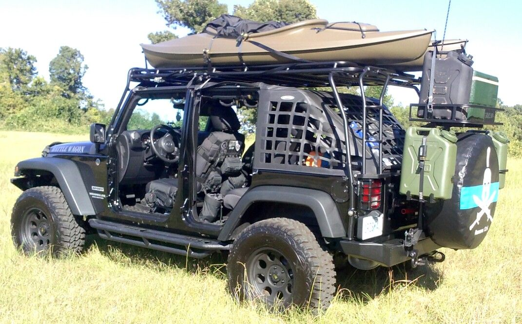 Smittybilt Black Molle Seat Covers