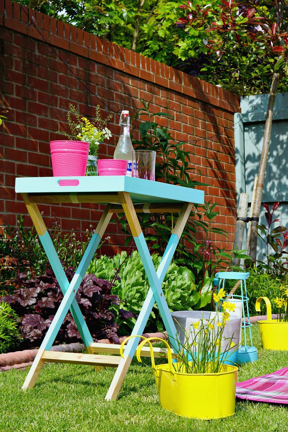 Getting the garden ready for summer with LOTS of colour from ...