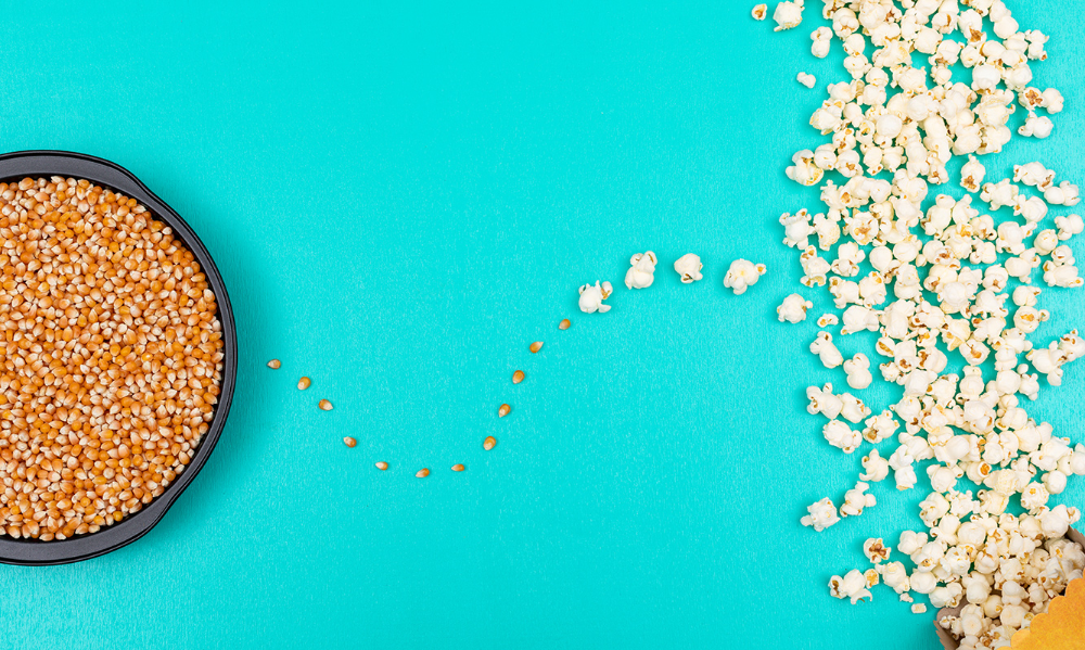 Celebrating Earth Day At Home | #earthday #organicpopcorn