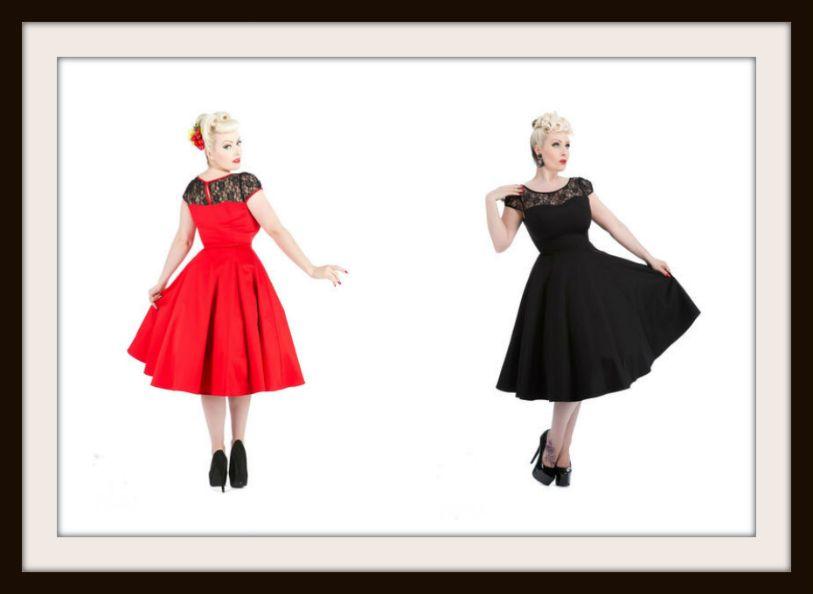Vintage Kjoler 50 Er Kjoler 60 Er Kjoler Klassiske Kjoler Klassisk Kjole Vintage Kjoler 50er Kjoler