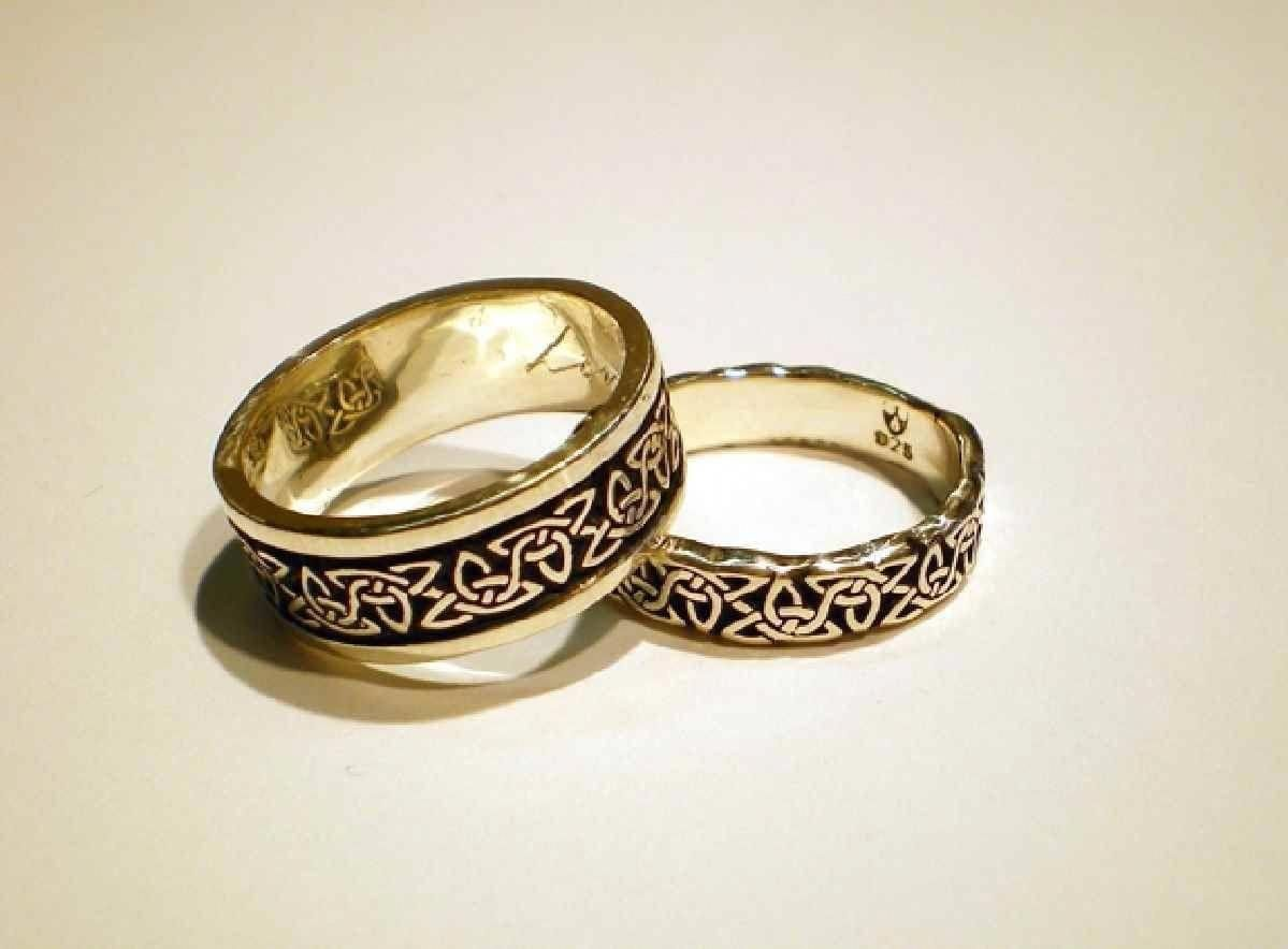 It is just a photo of 50 Besten Ideen Scottish Wedding Bands #Verlobungsringe