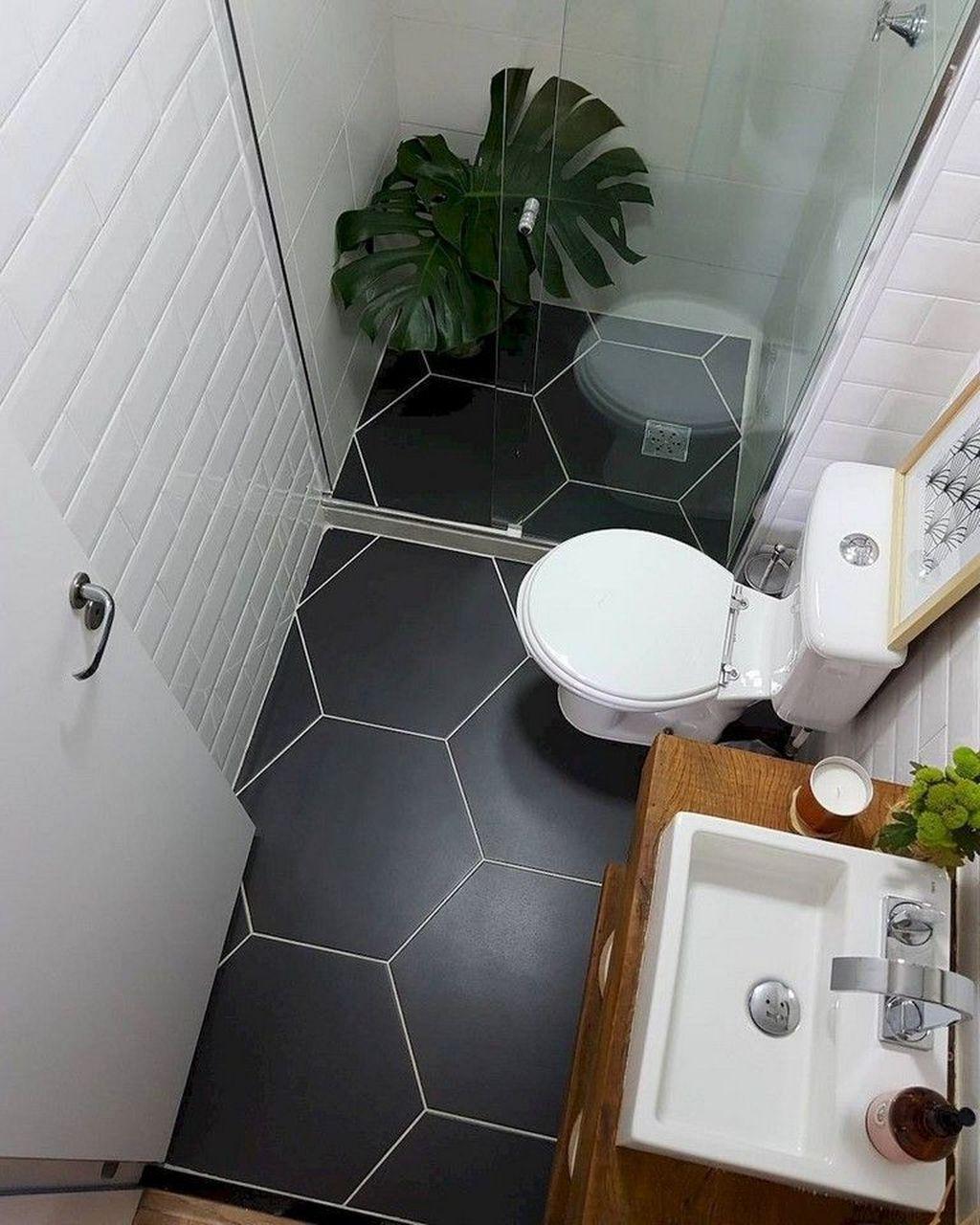 30 Simple Minimalist Bathroom Shower Design Ideas Trenduhome Small Bathroom With Shower Small Bathroom Bathroom Design Small