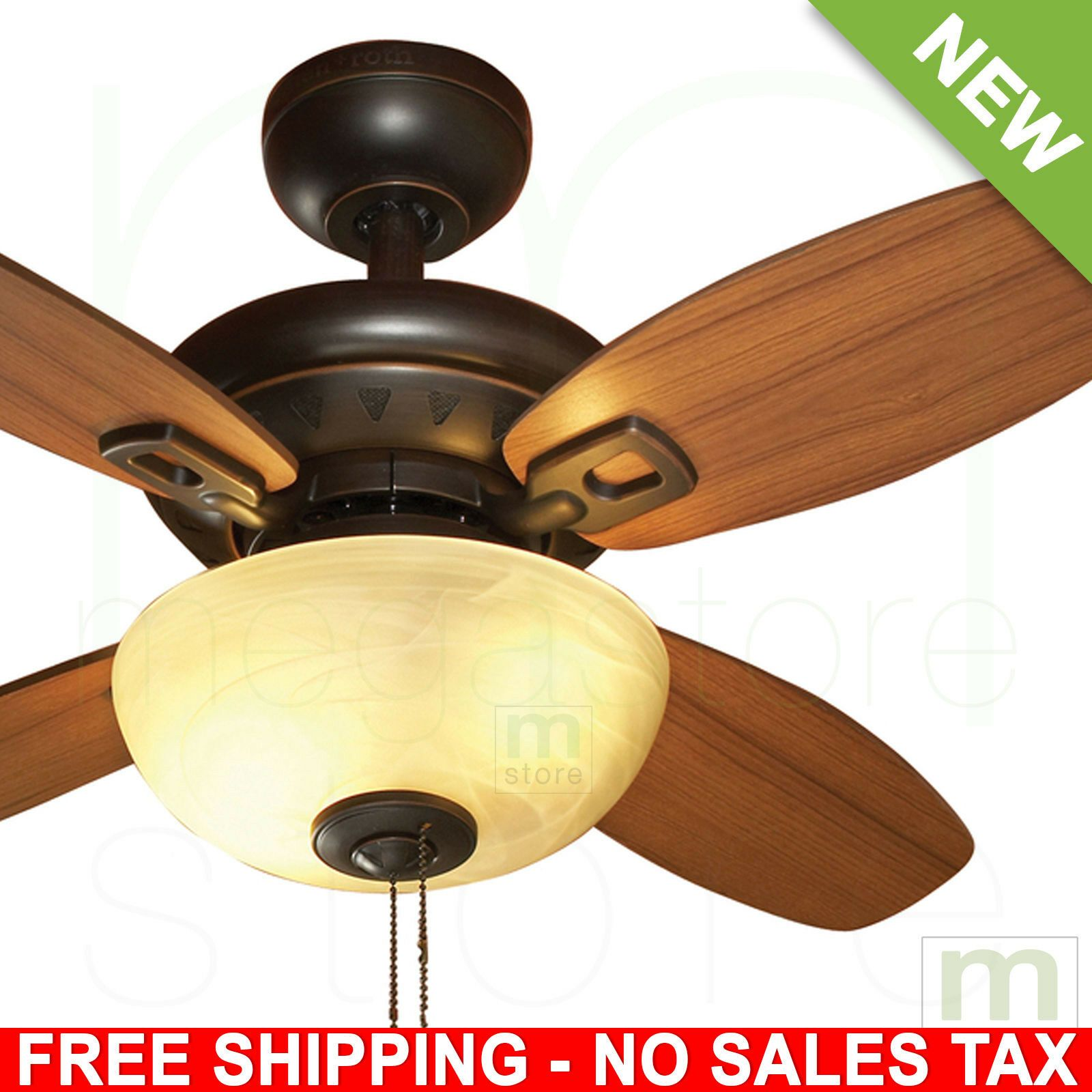 Details About 32 Ceiling Fan Light Kit Reversible Blades Dark
