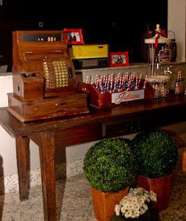 Encontrando Ideias: Festa Lanchonete Vintage!!!