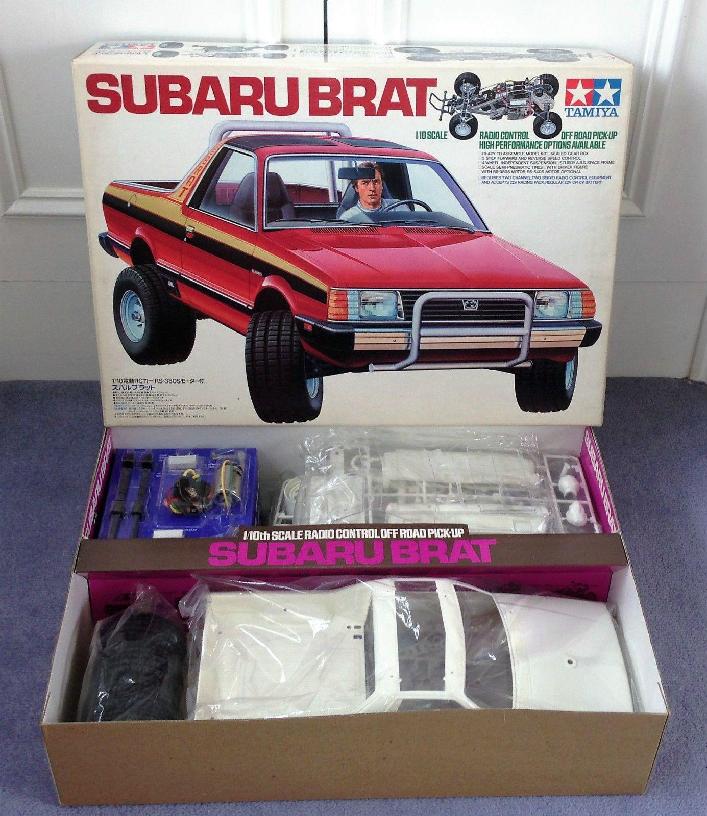 Subaru Brat For Sale Malaysia: TAMIYA 1983 SUBARU BRAT KIT 58038