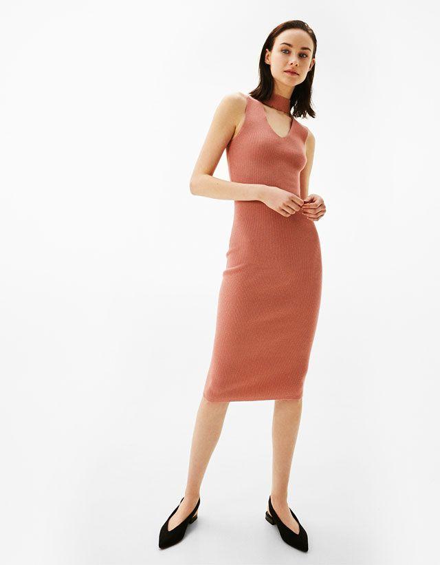 Elbiseler Giyim Kadin Bershka Turkey The Dress Kadin Ve Elbiseler