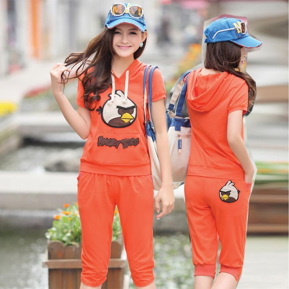 angry birds leisure suit for women