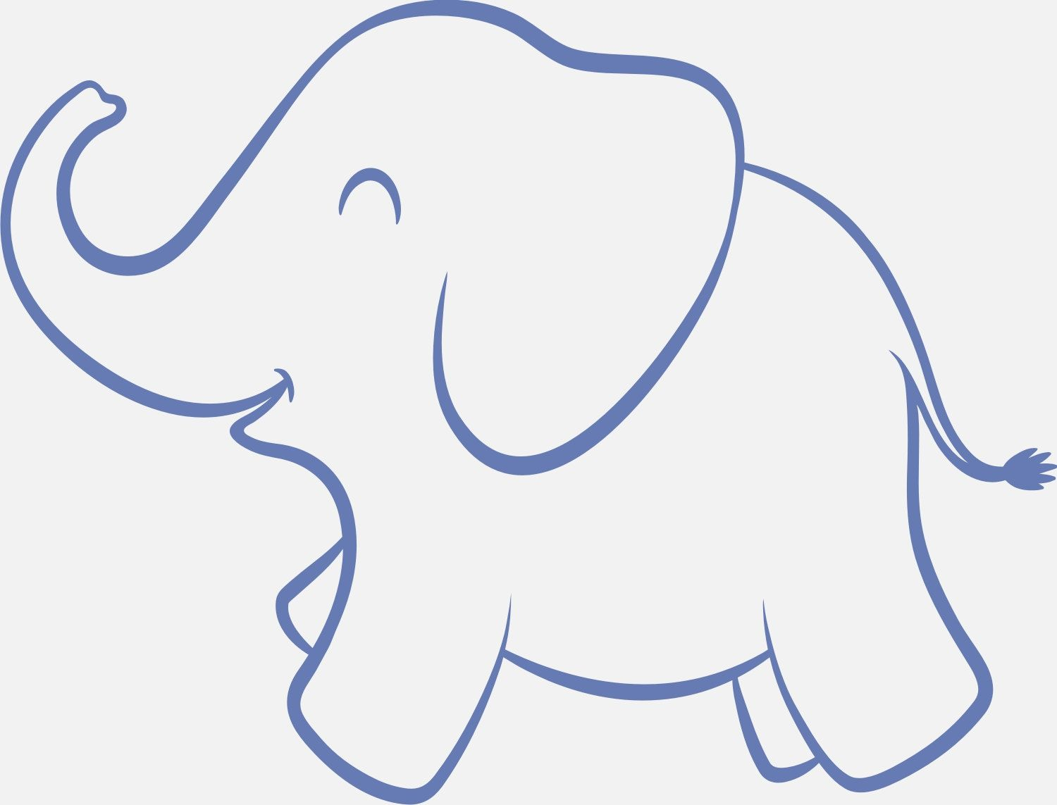baby elephant detail adds and elegant touch of elegance
