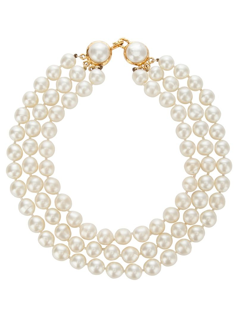 Vintage Chanel Pearls.