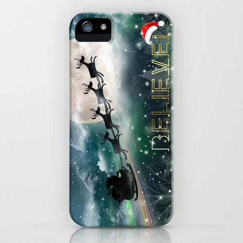 Santa's Midnight Ride iPhone & iPod Case