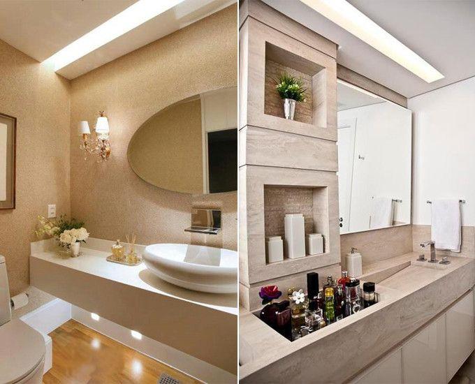 Luminaria Banheiro Gesso : Banheiro forro de gesso lighting