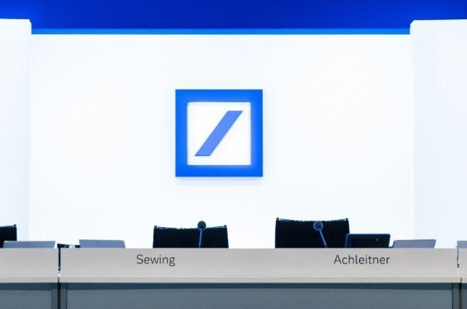 Could Deutsche Bank be too big to fail? The bank's stock