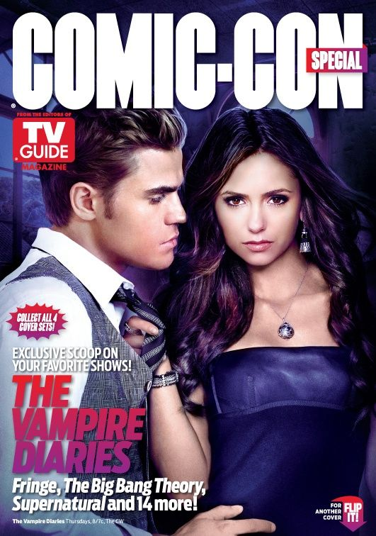 The Vampire Diaries On The Cover Of Tv Guide Magazine Vampire Diaries Tv Guide Vampire Diaries Seasons