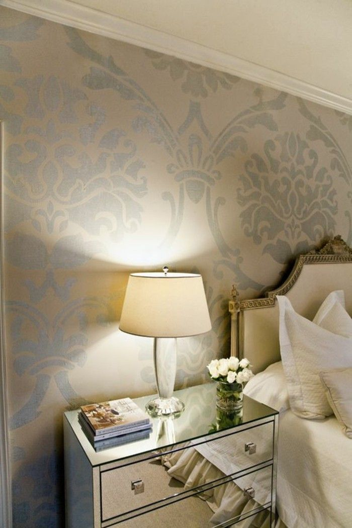 les papiers peints design en 80 photos magnifiques d co cosy pinterest peindre papier. Black Bedroom Furniture Sets. Home Design Ideas