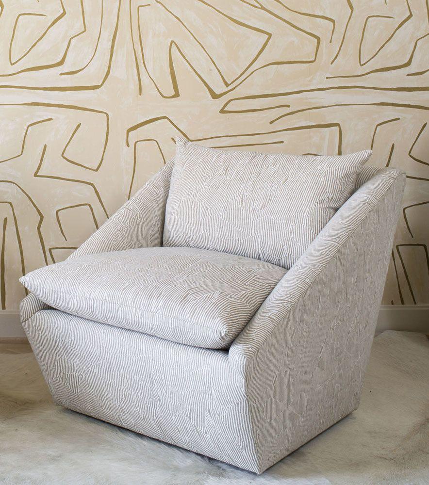 Harper swivel chair   Kelly wearstler, Swivel chair and Modern