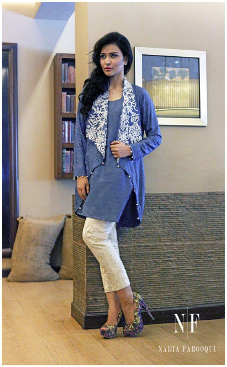 Nida farooqui new eid lawn dresses design casual dressing