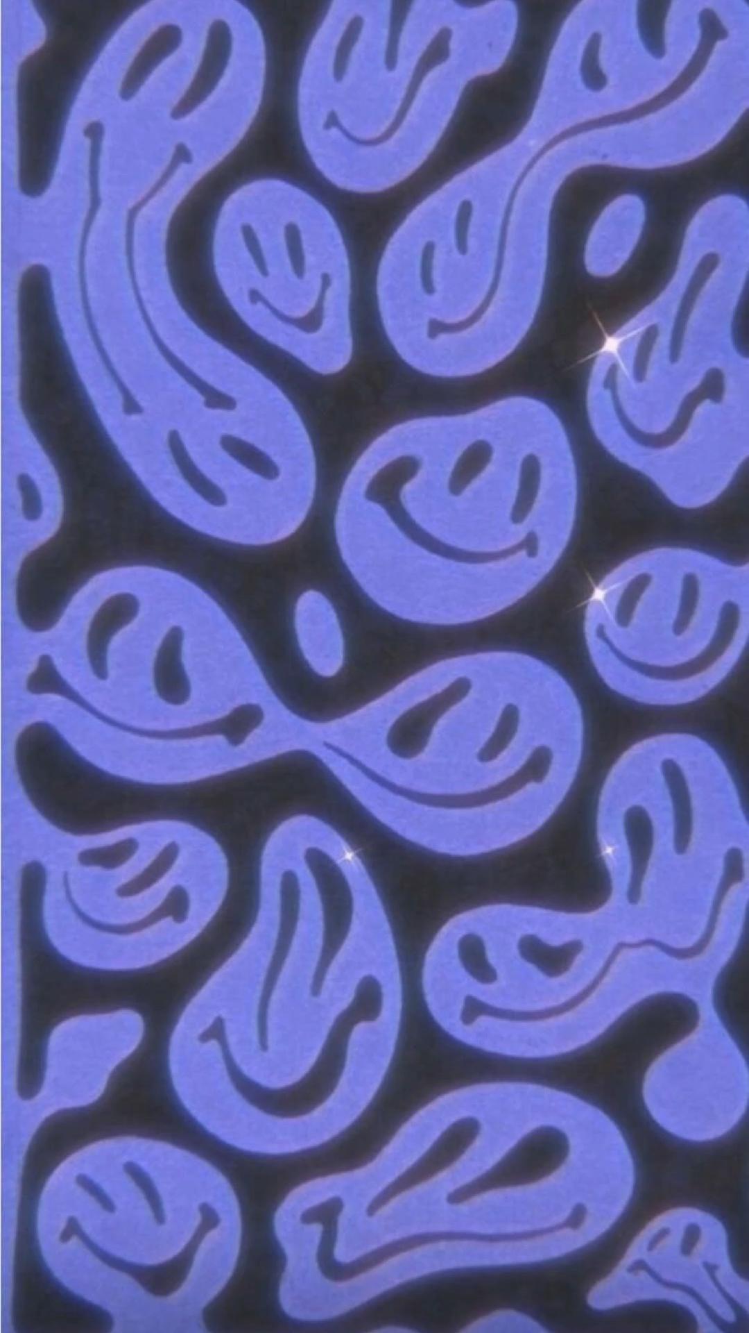 Purple retro Aesthetics