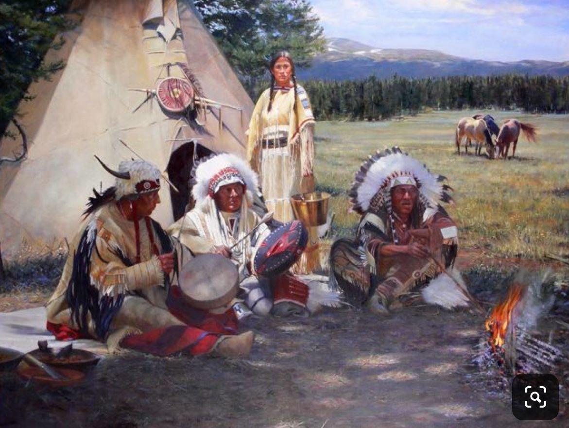 стойбище американских индейцев фото любителей активного отдыха