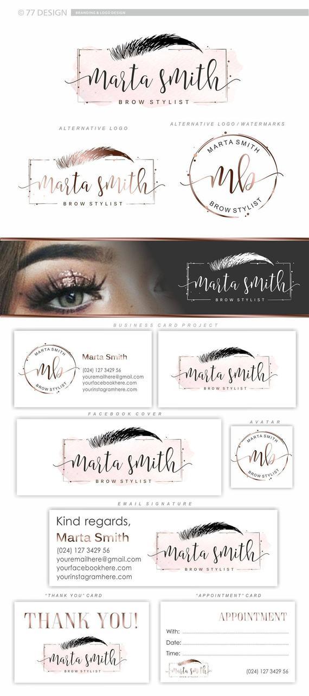 Lash brow logo, Beauty Salon logo, Makeup logo, Artist logo design