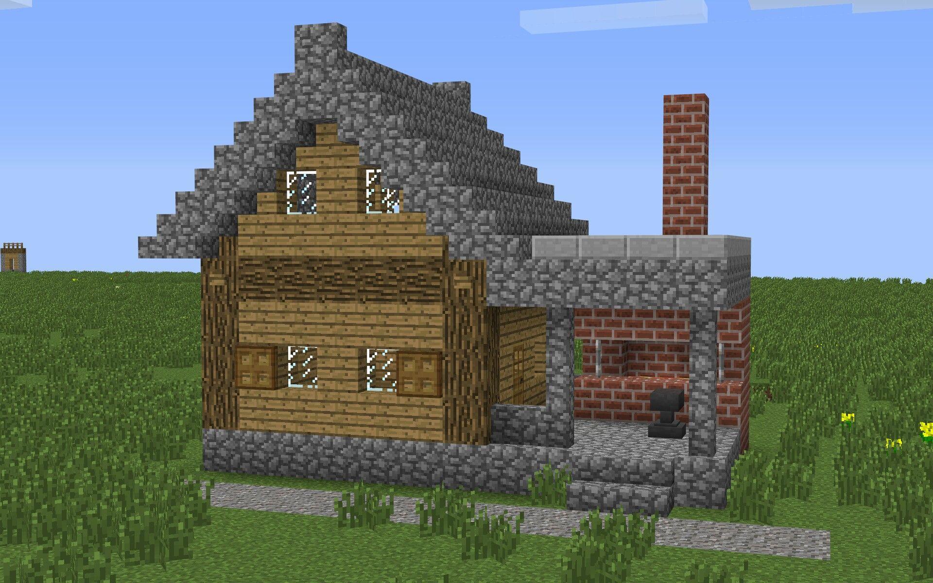 Pin Von Ellie Lafond Auf Minecraft Pinterest - Minecraft kleine hauser ideen
