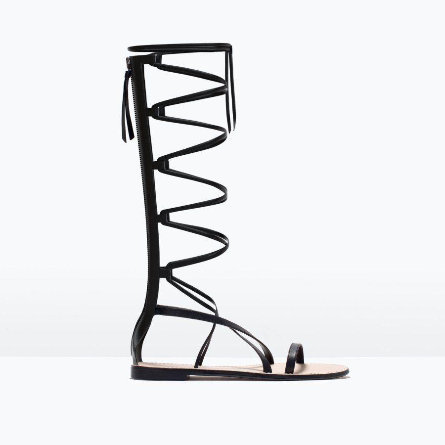 İlkbahar-Yaz Trendi: Gladyatör Sandalet Modelleri ve Kombinleri
