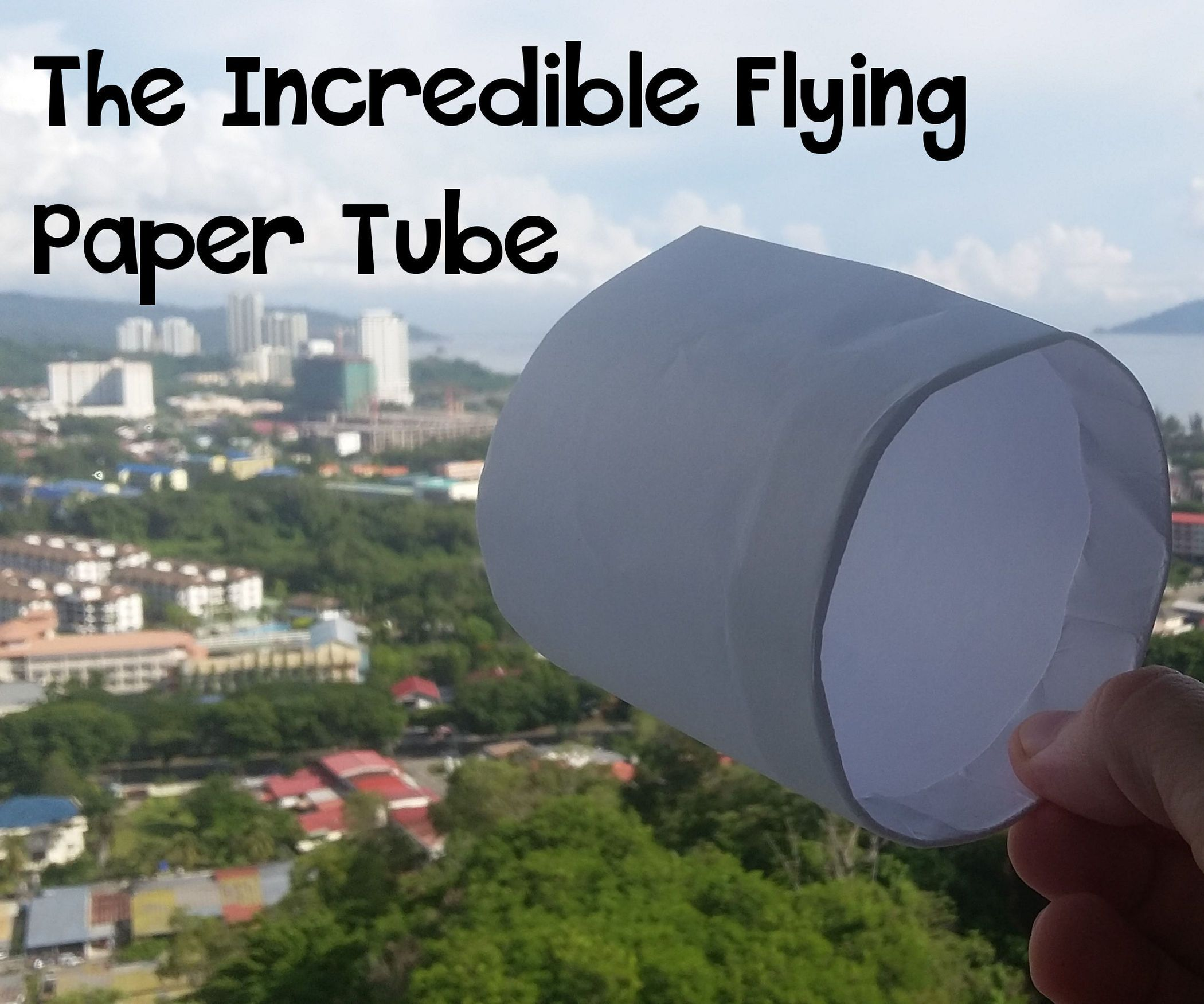 The Incredible Flying Paper Tube | physics & astronomy ... - photo#37