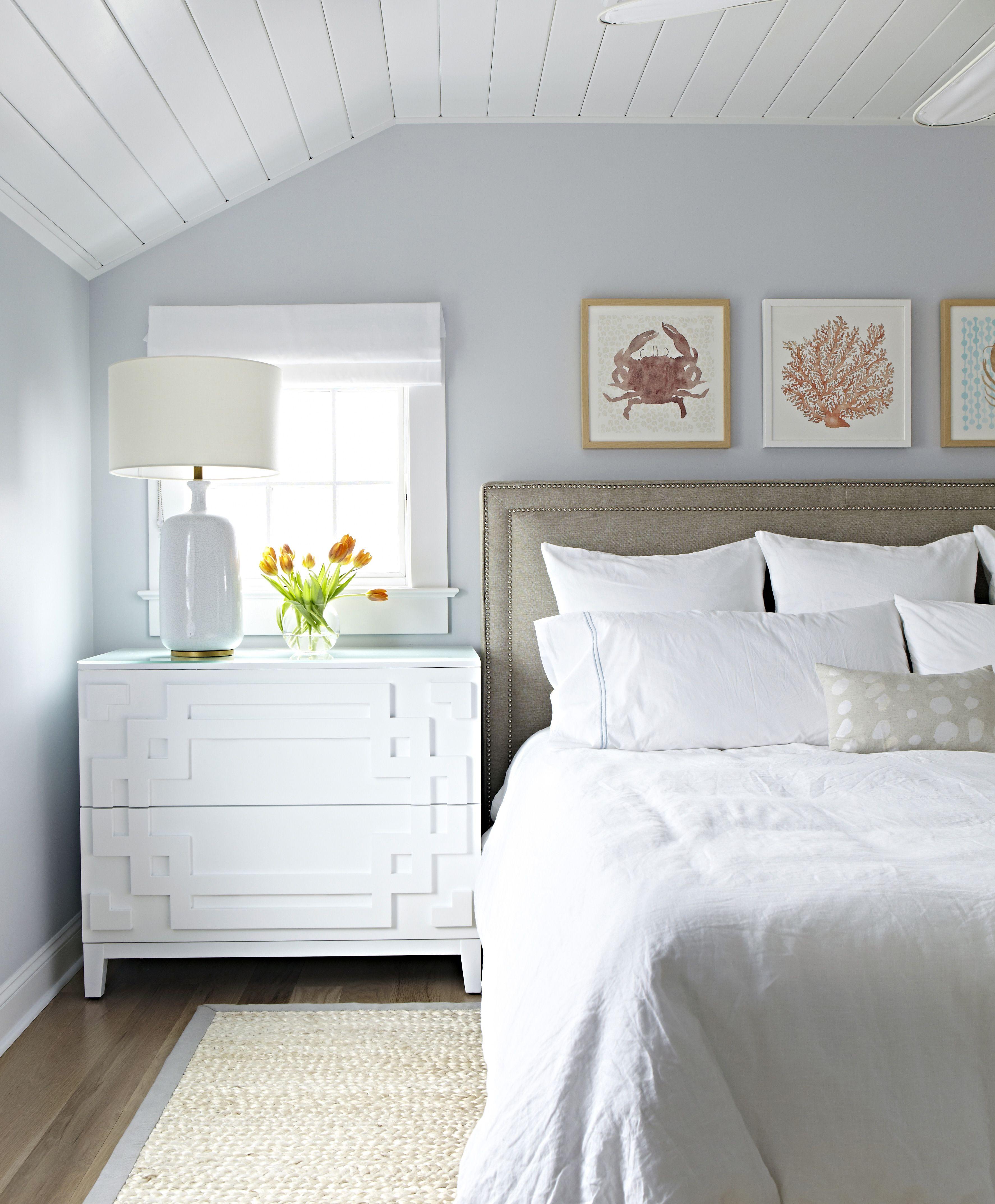 bay head beach bungalow coastal prints chango co schlafzimmer bedroom. Black Bedroom Furniture Sets. Home Design Ideas