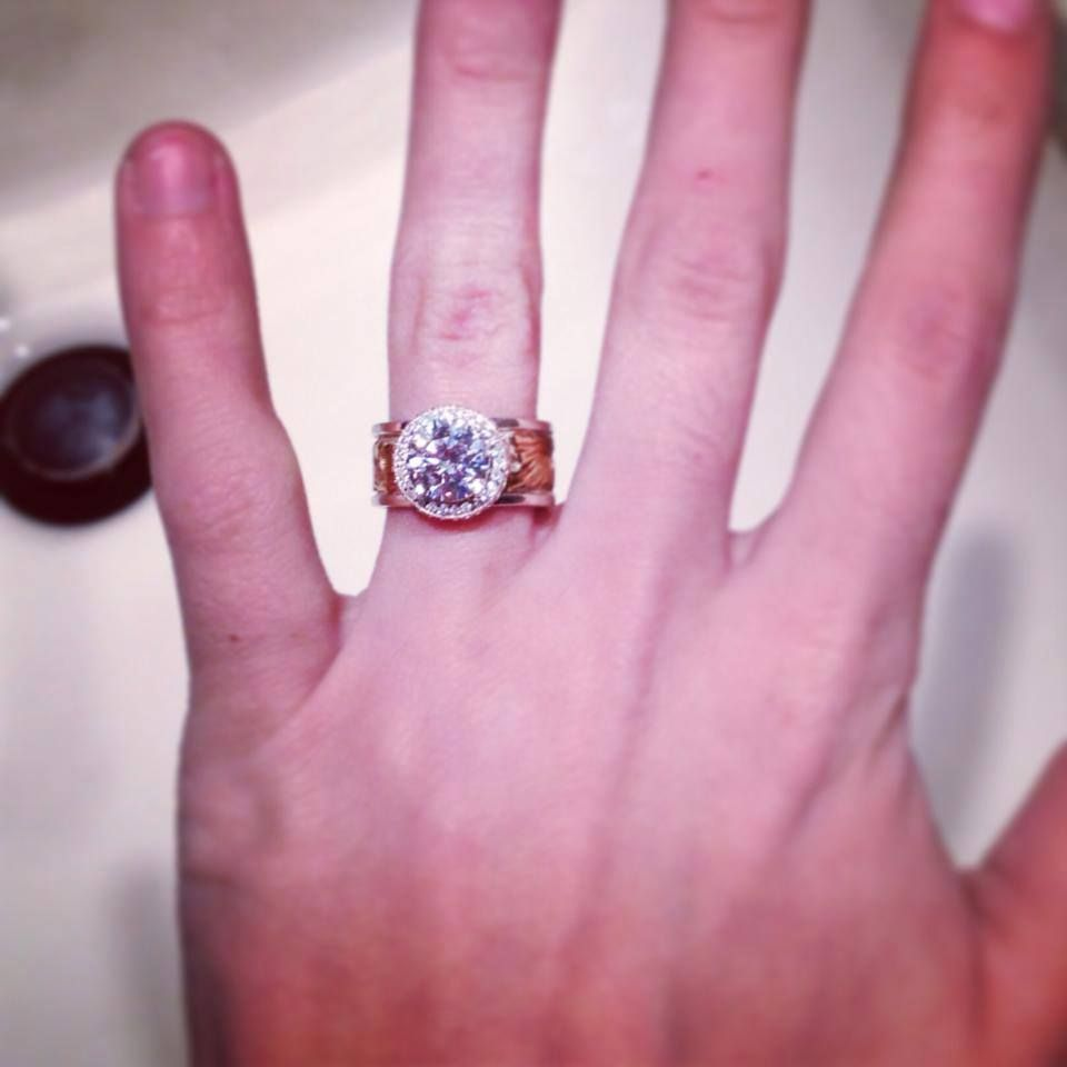 I just wanted to say, THANK YOU for designing my dream ring! We are ...