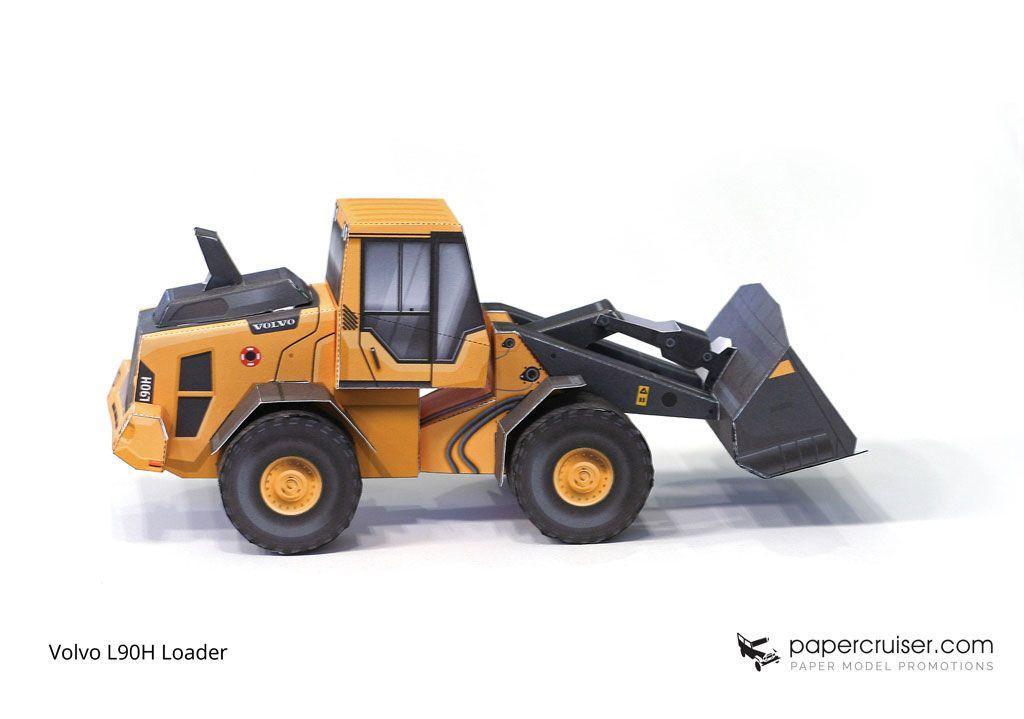 Volvo L90H Loader Front-end loader, wheel loader