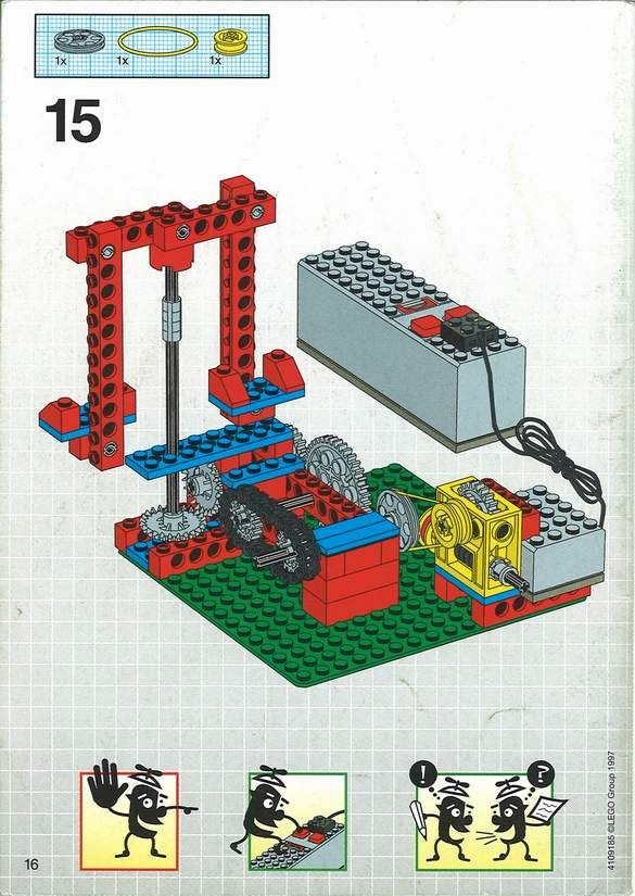 Dacta Simple Mechanisims Set Lego 9630 Lego Pinterest Lego