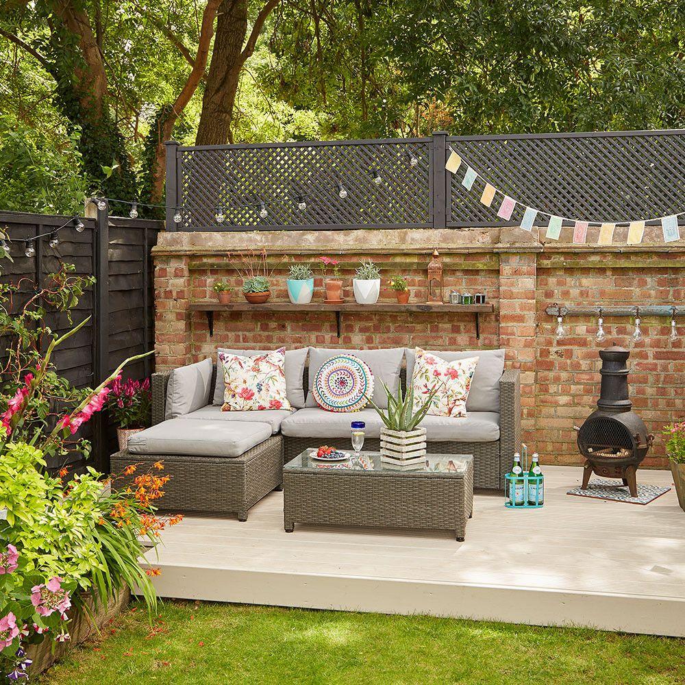 Stunning Backyard Ideas No Grass Taman Modern Ruang Outdoor Pertamanan Belakang Rumah Modern backyard no grass