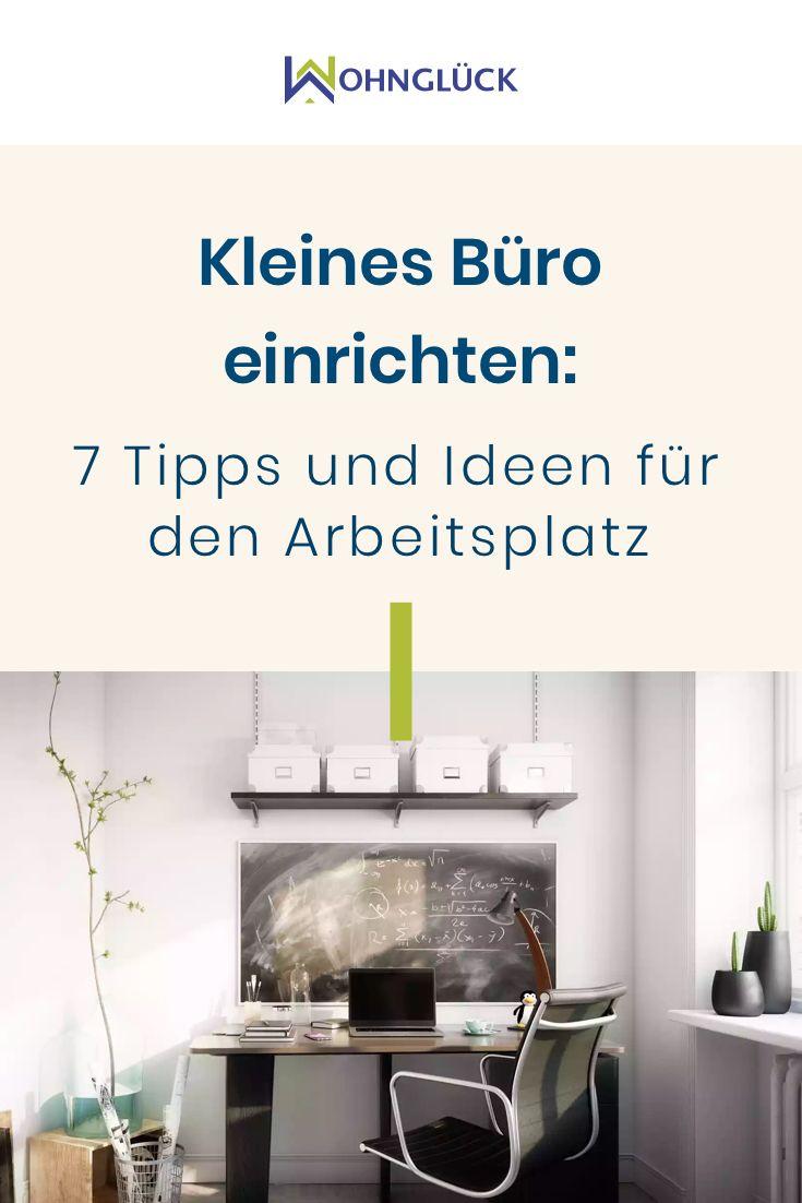 Kleines Buro Einrichten 7 Tipps Und Ideen Fur Den Arbeitsplatz Buro Eingerichtet Arbeitszimmer Einrichten Schreibtisch Inspiration