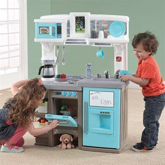 Plastic Play Kitchen Step 2 step2 dishin' up delights kitchen wooden play centres, plastic