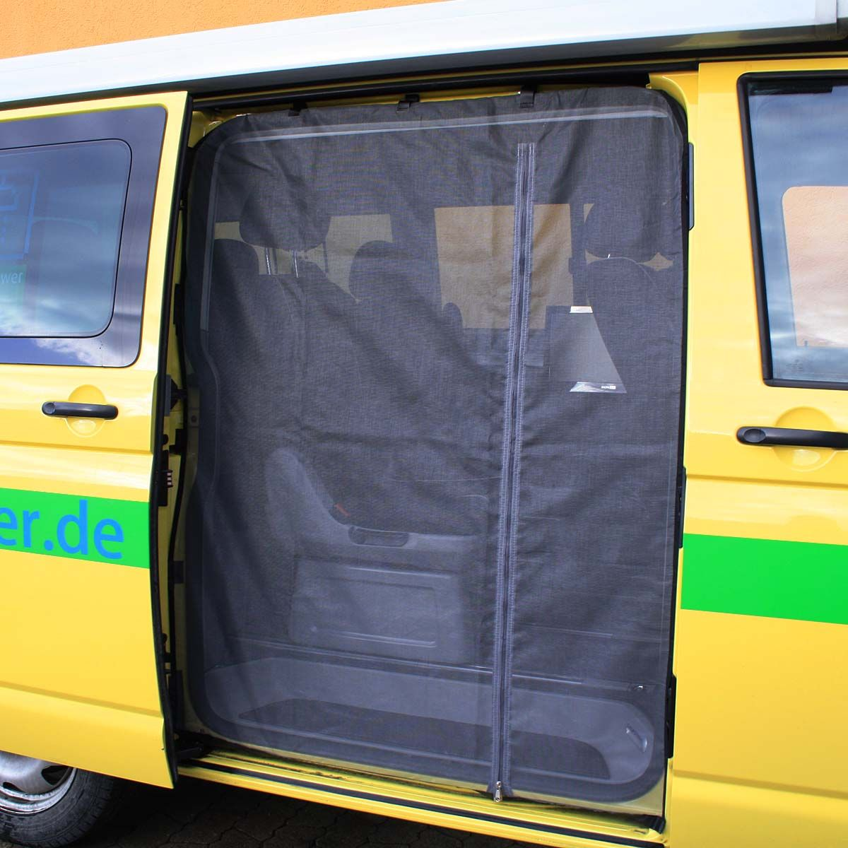 Photo of Mosquito net for VW T5 / T6 sliding door / insect protection VanQuito