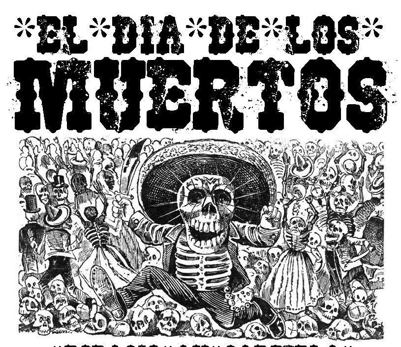 TECIDO VIVO: El Dia de Los Muertos