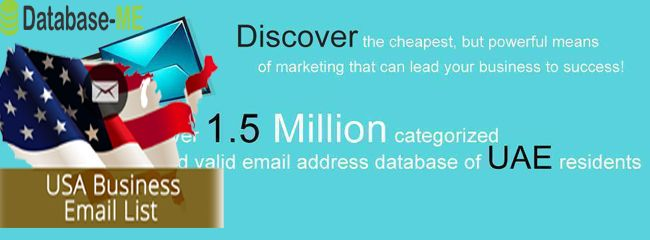 UAE Email address list database directory with company al,l details