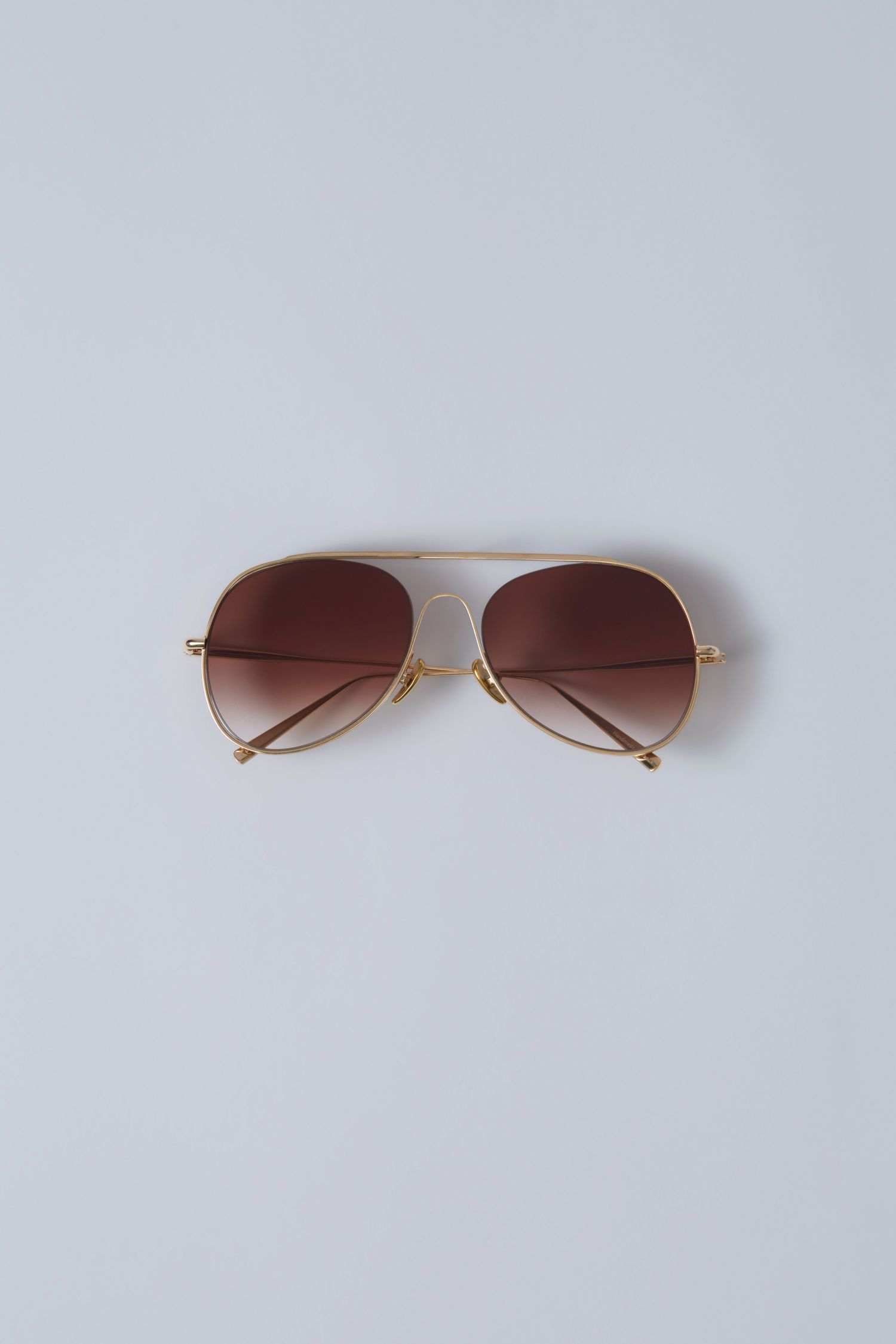 ACNE STUDIOS Spitfire Large gold brown degrade.  acnestudios ... 9ab88115861