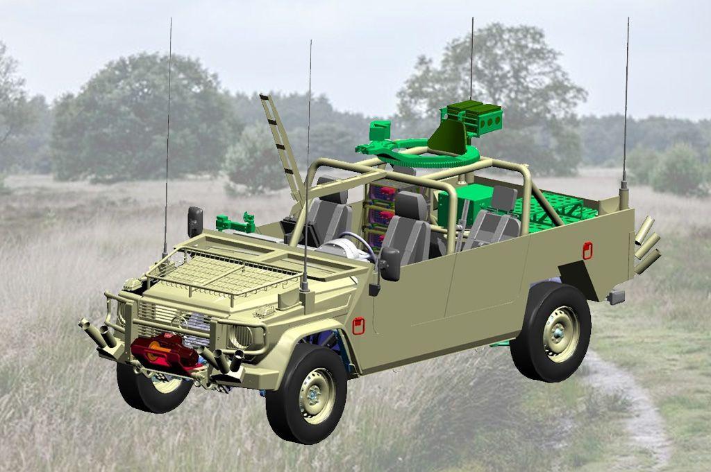 Mercedes Benz Voor Luchtmobiele Brigade Onafhankelijke Defensiebond Militaire Voertuigen Krijgsmacht Mercedes Benz