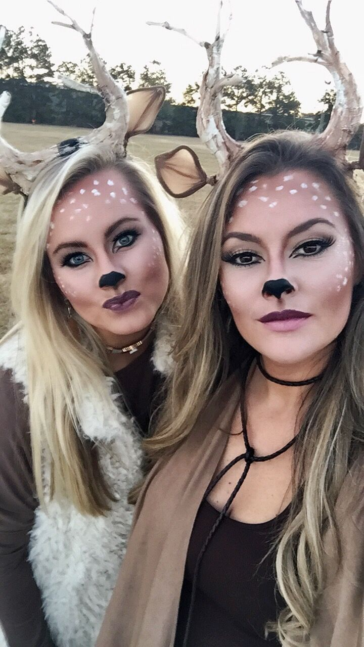 The ULTIMATE COLLEGE HALLOWEEN COSTUMES FOR 2020 & 2021, Deer Costume