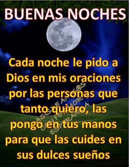 Centro Cristiano Para La Familia Buenas Noches Good Night Quotes Image Quotes Night Quotes