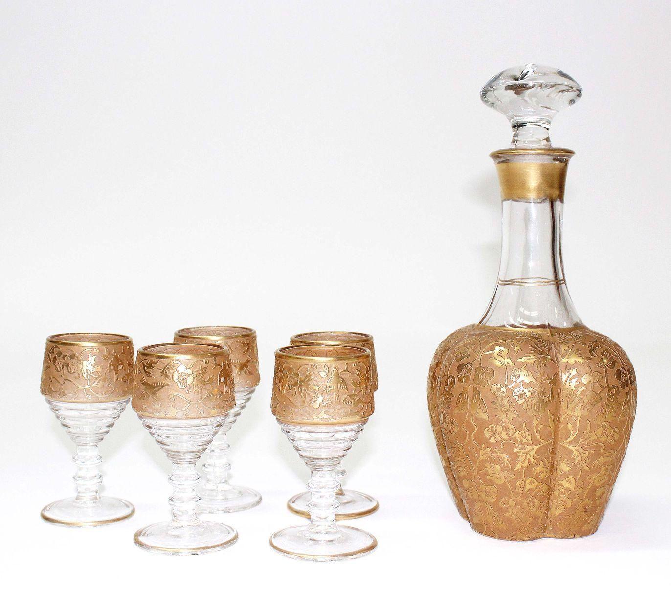 Pin On Bottles Punch Bowels Pitcher Sets Liquor Glasses